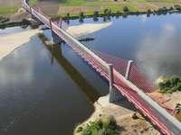 Bau einer Brücke über die Weichsel in Kwidźyn