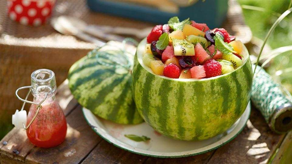 Wassermelone....