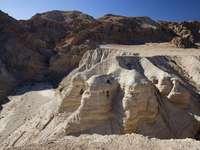 Qumran Höhlen - Qumran Höhlen Fundort alter Schriftrollen Pilgerreise 1996