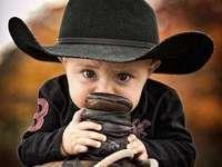 Liten baby cowboy - Liten baby cowboy ....