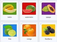 meloun meloun papája vápno oranžová blackberry