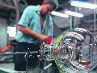 tkalcovský stav výroby skla - m .............................