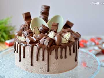 TORT URODZINOWY - Tort Kinder - pyszny pomysł na tort urodzinowy dla dziecka