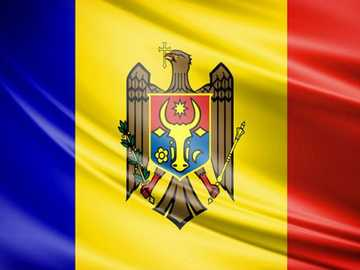 Republic of Moldova - The flag of our country