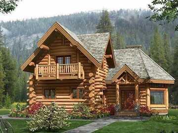 casa di legno - m .............................