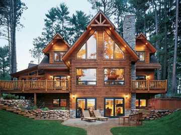 House in the mountains - m .............................