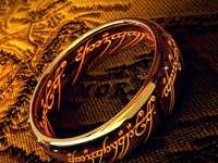 Pierścień Władzy - Sauron - Władca Pierścieni - pierścień władzy jedyny pierścień Sauron Władca pierścieni
