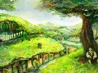 Hobbiton - Lord of the Rings