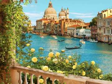 Bella Venezia. - Puzzle di paesaggio.