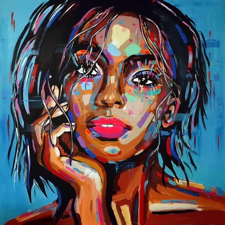 μοντέρνα τέχνη - πορτρέτο