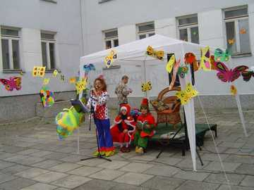 a butterfly festival - children's festival and butterflies
