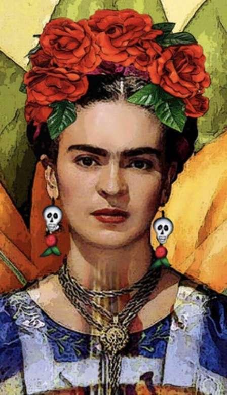 Frida Kahlo - Auto-retrato (5×10)