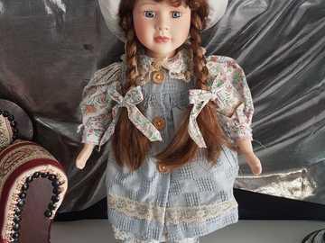 bambola di porcellana da collezione - bambola di porcellana da collezione