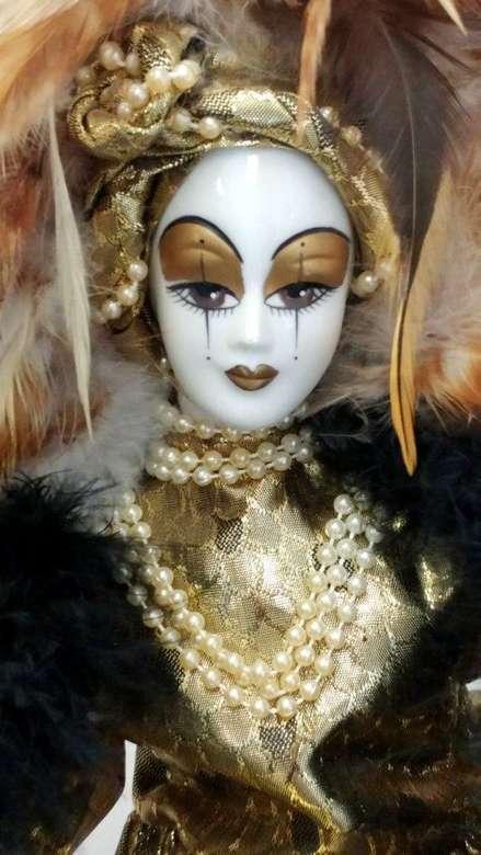 bambola di porcellana da collezione (6×11)