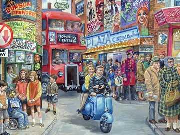 Former London. - Landscape puzzle.