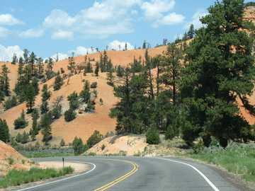 vue sur une vallée en Arizona - vue sur une vallée en Arizona