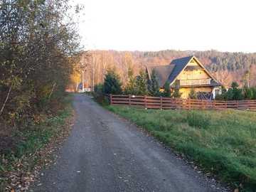 lever du soleil dans les montagnes de Bieszczady - lever du soleil dans les montagnes de Bieszczady