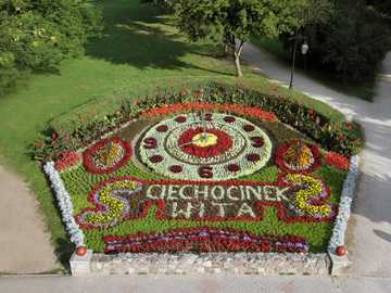 FLORAL CLOCK - Flower clock | Places of Interest