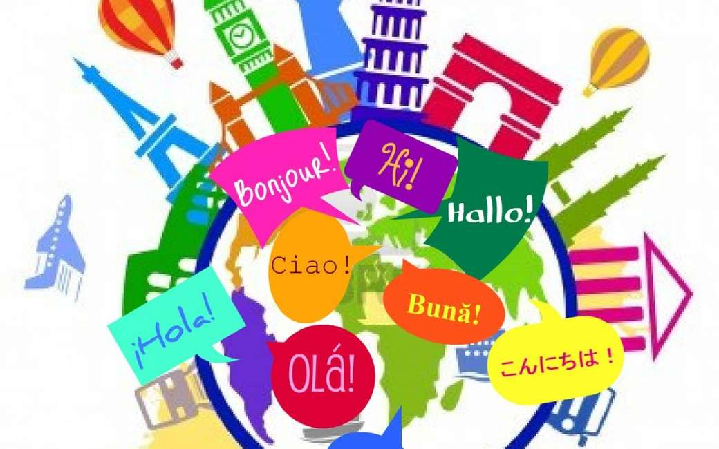 Languages ​​of the world - different ways of speaking in the world (3×2)