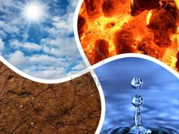 The four elements - We leave you this puzzle about the four elements