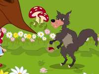 fairy tale - red riding hood - fairy tale - red riding hood