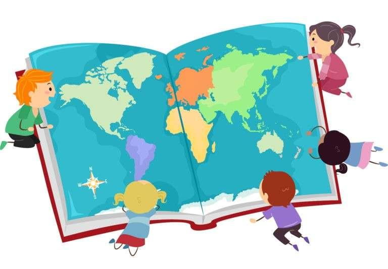 Socialstudier - Socialstudier. Barn över hela världen. Barn från hela världen (10×7)