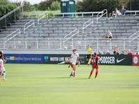 sofia huerta - foto di donna calciare il pallone da calcio. Maryland SoccerPlex, Boyds, Stati Uniti