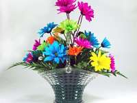 colorful flowers - m ......................