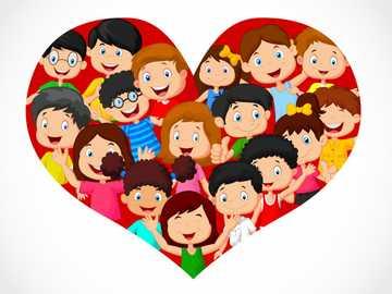 Van heel mijn hart - De kinderen van de wereld delen in geluk