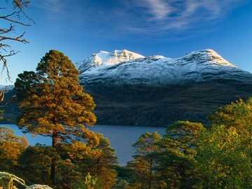 Scottish landscape. - Landscape puzzle.