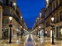 Calle Larios, Málaga, Espagne