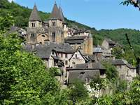 The village of Conques