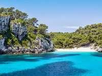 Menorca Insel im Mittelmeer