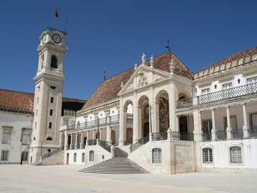Coimbra city in Portugal university - Coimbra city in Portugal university