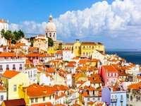 Πανόραμα της πόλης της Λισαβόνας