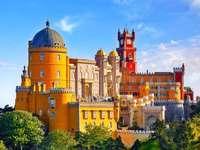 Sintra Pena palota Portugália