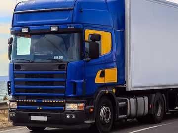 Camion nana - camion blu tir auto