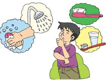 Personal hygiene - Hygiene puzzle for kids