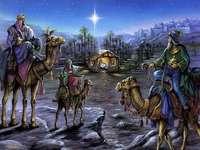ೋ Os Reis Magos visitam o Menino Jesus ೋ ღ ೋ