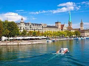 <<Zurich>> - Landscape puzzle.