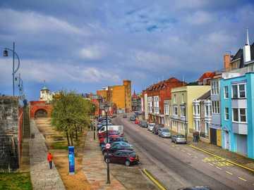 Южно крайбрежие на Портсмут Англия - Южно крайбрежие на Портсмут Англия