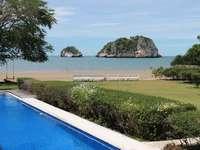 Privát strand Pranburiban, Thaiföldön