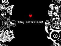 undertale - STAY DETERMINED! undrtale puzzle