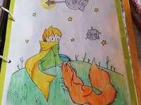 El principito y zorro - La imagen lo dibuje yo uwu