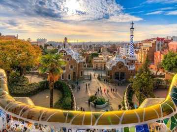 Park Güell - The Park Guell in Barcelona