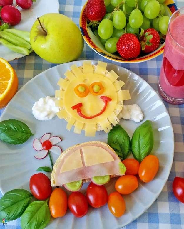 Frühstück für ein Kind