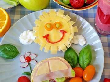 colazione per un bambino - m ...................
