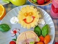 ontbijt voor een kind