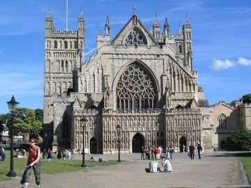 Exeter Cathedral Devon - Exeter Cathedral Devon
