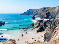 Porthleven Cornwall déli partja